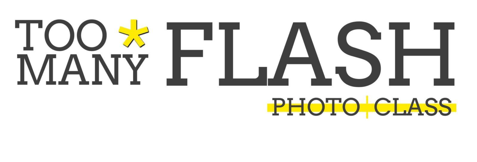 Logo de TOO MANY FLASH PHOTO CLASS La Escuela de Emprendimiento Fotográfico