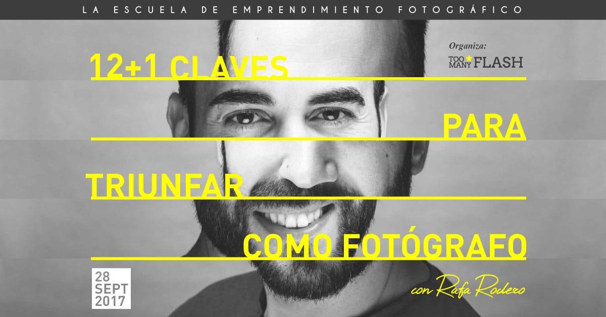 Charla con Rafa Rodero, experto en lanzar fotógrafos al mercado profesional