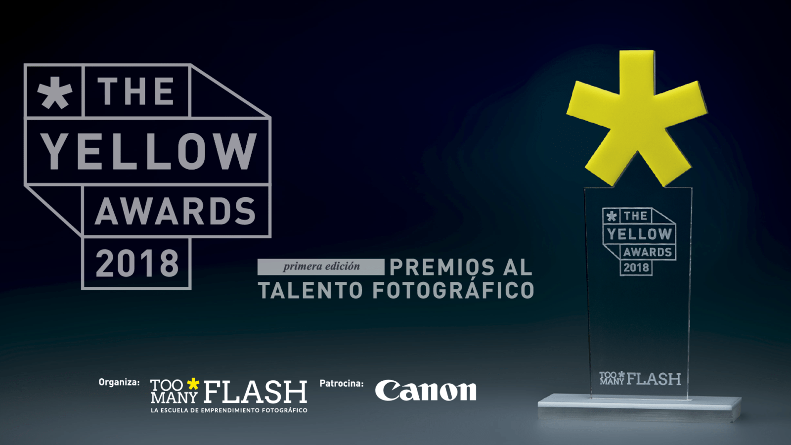 The yellow awards cabecera