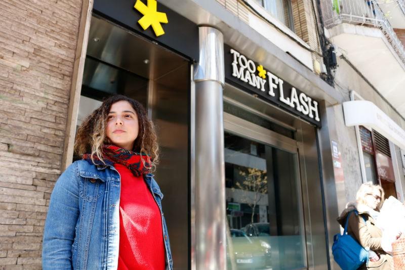 """Becados TOO MANY FLASH 2018 – Martina Stelian: """"La fotografía me trajo desde Argentina hasta Madrid"""""""
