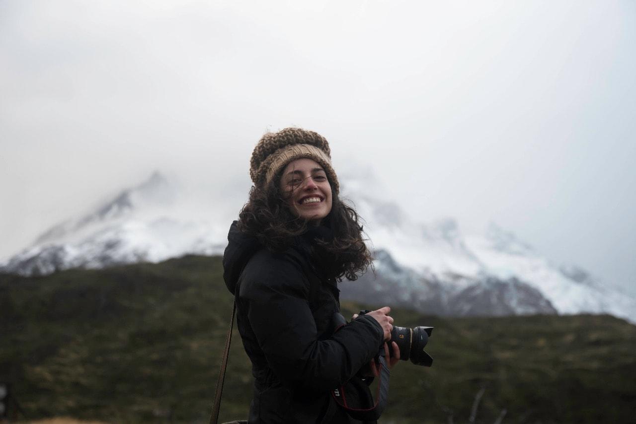 Ana Márquez, la estudiante que sobresalió en Visa Pour L'Image.